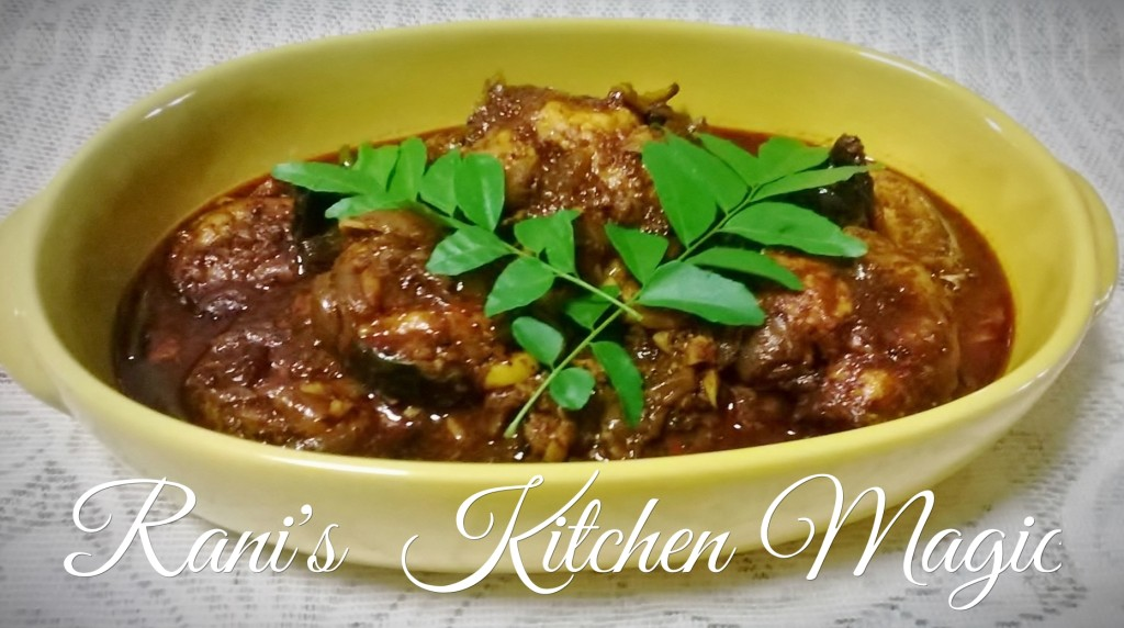 fish curry with fried spices