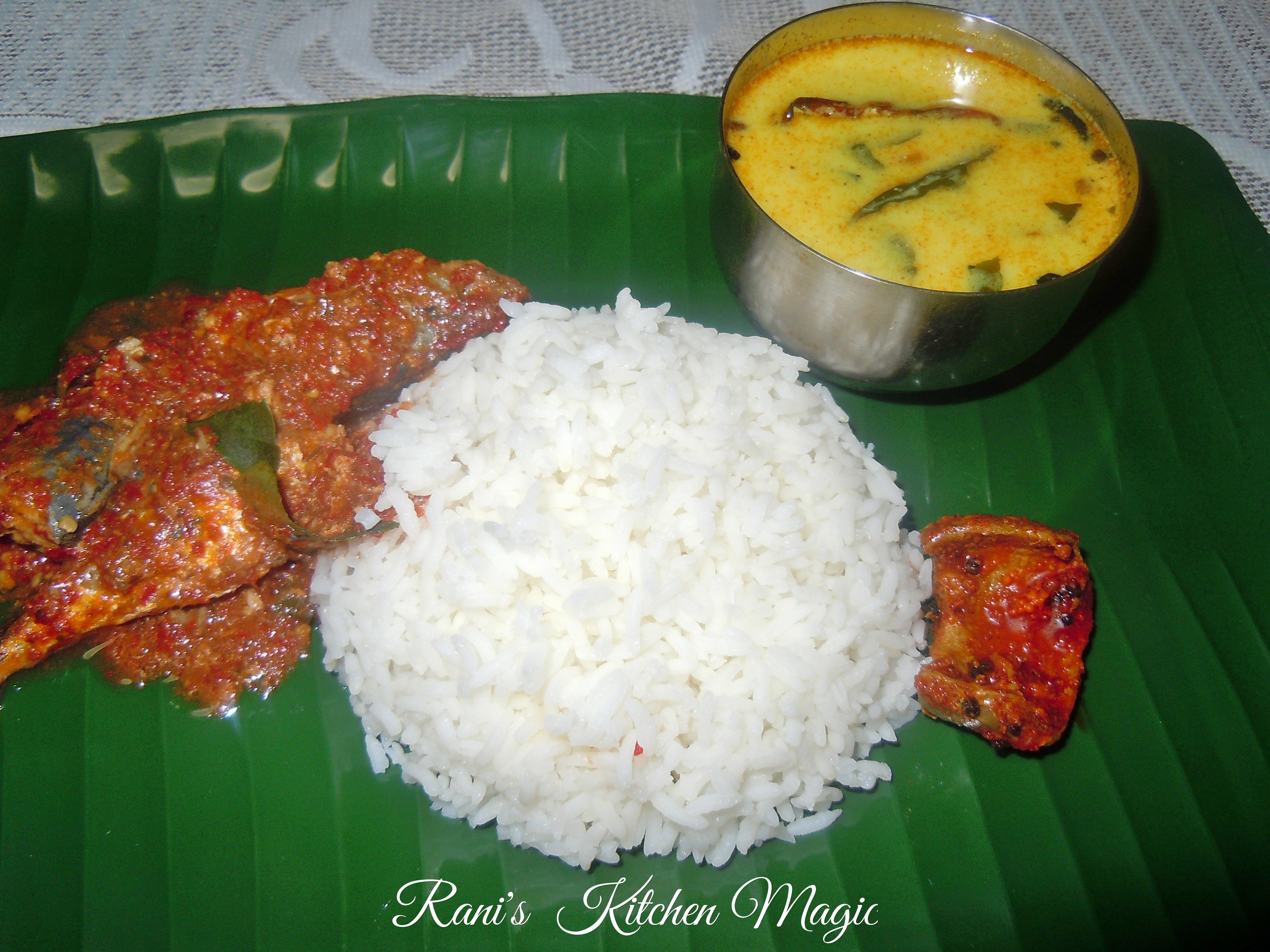 Fish With Mashed Chilly And Shallots Ulliyum Mullakum Chathacha