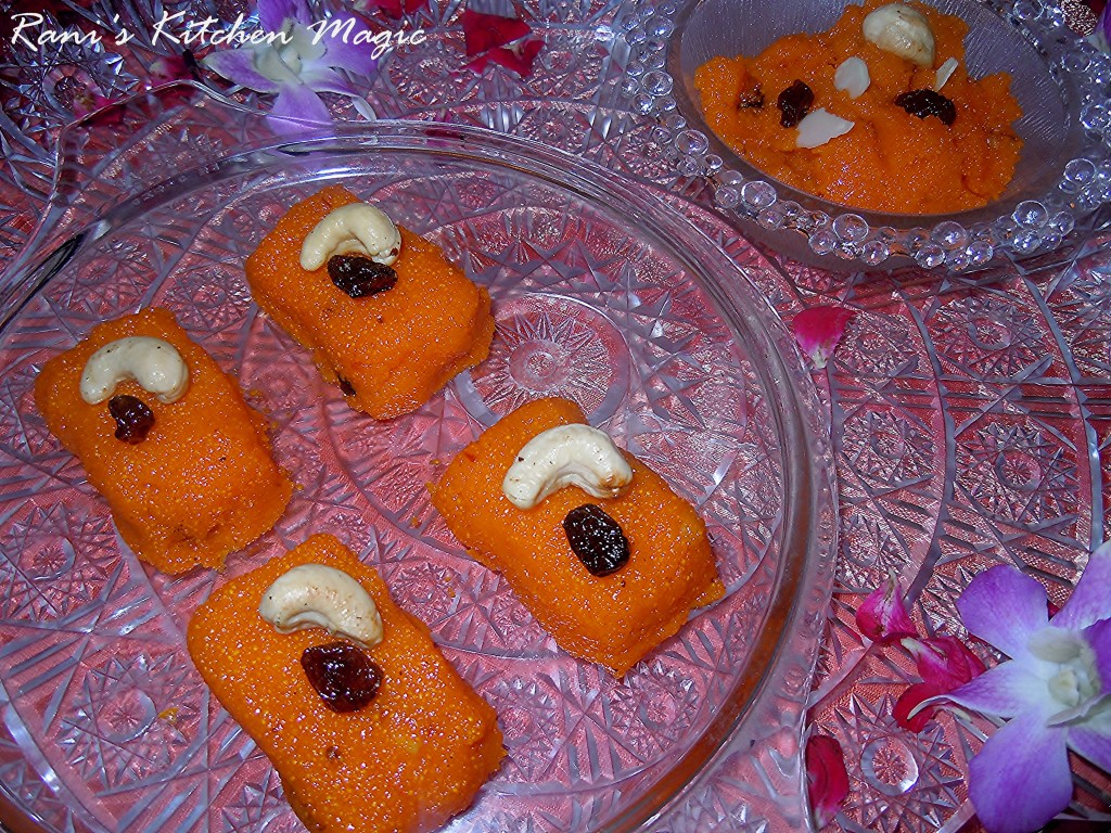Xmas Cake Recipe In Malayalam: Rava / Sooji / Semolina Kesari(Indian Sweet