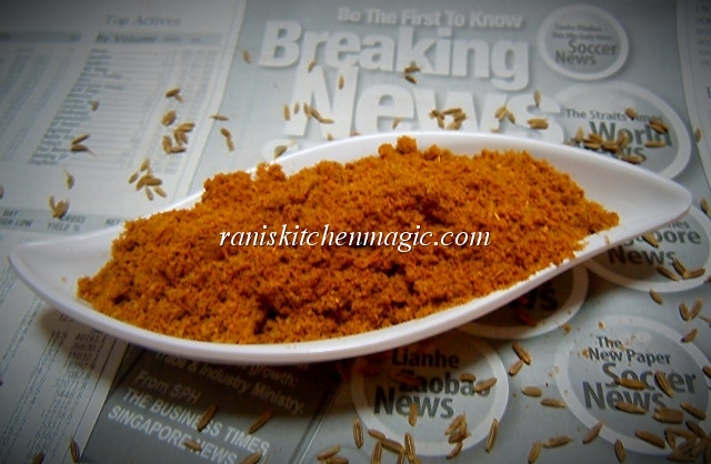 ... arabic cumin powder recipe homemade jeera powder roasted cumin powder