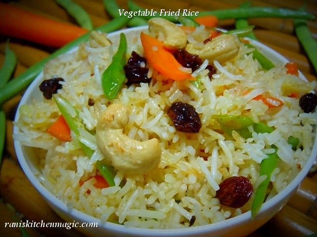 Simple vegetable fried rice kerala style forumfinder Image collections