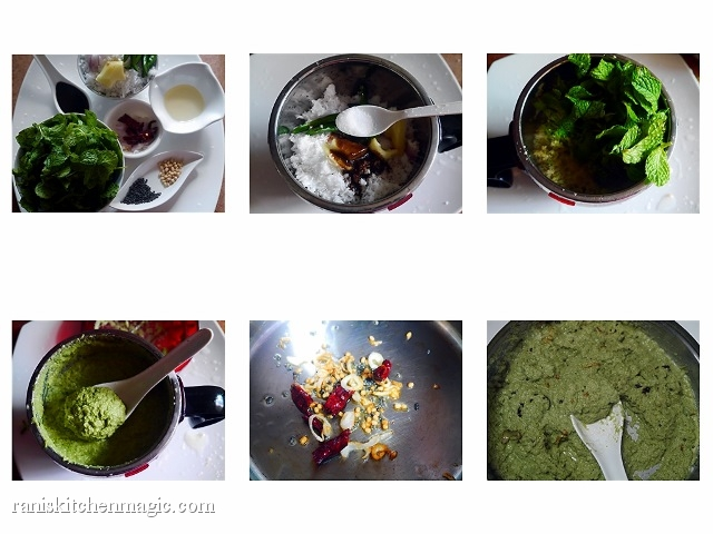 Mint Coconut Chutney Method (640x480)