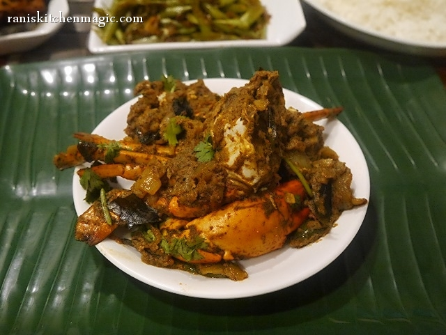 Crab Masala Roast Masala Crab Roast Without Coconut Njandu Masala Purattiyathu