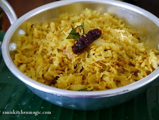 Cabbage Thoran (Kerala Style Stir-Fried Cabbage) Recipe — Dishmaps
